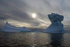 Antarctic Iceberg. In Iceberg Alley graveyard Royalty Free Stock Photos