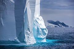 Antarctic Iceberg. Close-up of a Huge antarctic iceberg on the antarctic peninsula Royalty Free Stock Images
