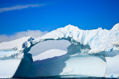 Antarctic iceberg Stock Photo