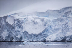 Antarctic Iceberg tranquil image Royalty Free Stock Photo