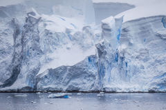 Antarctic Iceberg View Stock Photography