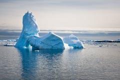 Antarctic icebergs Stock Images