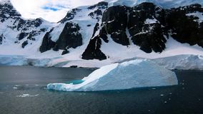 Antarctic - Iceburg Stock Photo