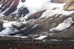 antarctic krzyżuje łudzenie wyspę Zdjęcie Stock