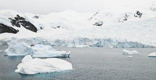 antarctic lodowiec Zdjęcie Royalty Free