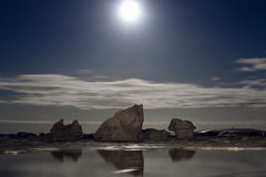 Antarctic night Stock Photo