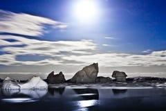 Antarctic night Stock Image
