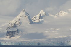 Antarctic peaks Stock Photos