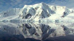 Antarctic peninsula in full sun Stock Photography
