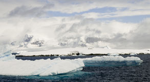 Antarctic Peninsula Scenery Royalty Free Stock Photos