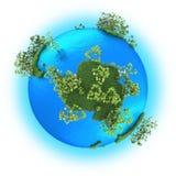 Antarctic on planet Earth Stock Photo