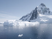 Antarctic scenery Royalty Free Stock Images