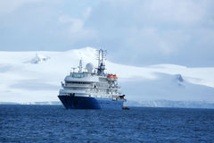 Antarctic ship Royalty Free Stock Photography