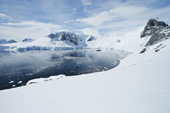 Antarctic snowcapped beauty Royalty Free Stock Image