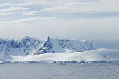 Antarctic snowcapped beauty Stock Photography