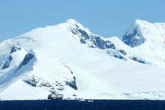 Antarctic snowcapped beauty Stock Image