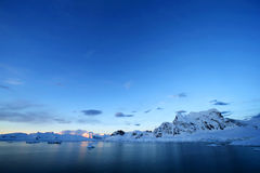 Antarctic snowcapped beauty Stock Images