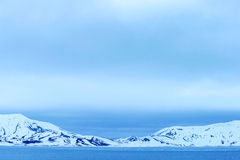 Antarctic snowcapped beauty Royalty Free Stock Images