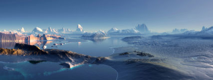 Antarctica. Widescreen Wallpaper Sky mountain Weather other atmosphere view backgroud royalty free stock photography