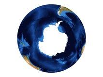 Antarctica. This is a very beautiful amazing Antarctica stock illustration