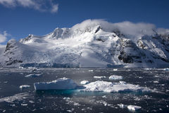 Antarctica. Lemaire channel and icebergs in antarctica stock photos