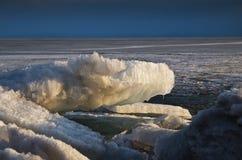 Antarctica, antarctic ice, snow winter scene Stock Photo