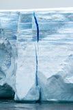 Antarctica - Antarctic Peninsula - Tabular Iceberg in Bransfield Royalty Free Stock Photo