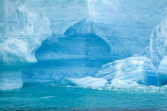 Antarctica - Antarctic Peninsula - Tabular Iceberg in Bransfield Royalty Free Stock Image