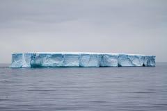 Antarctica - Antarctic Peninsula - Tabular Iceberg in Bransfield Stock Photography