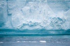 Antarctica - Antarctic Peninsula - Tabular Iceberg in Bransfield Stock Photo
