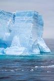Antarctica - Antarctic Peninsula - Tabular Iceberg in Bransfield Stock Images