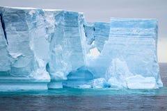 Antarctica - Antarctic Peninsula - Tabular Iceberg in Bransfield Royalty Free Stock Images