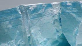 Antarctica - Antarctic Peninsula - Tabular Iceberg in Bransfield Strait Stock Photo