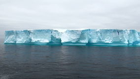 Antarctica - Antarctic Peninsula - Tabular Iceberg in Bransfield Strait Stock Photos