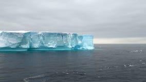 Antarctica - Antarctic Peninsula - Tabular Iceberg in Bransfield Strait Royalty Free Stock Photography