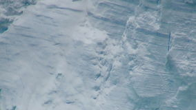 Antarctica - Antarctic Peninsula - Tabular Iceberg in Bransfield Strait Stock Images