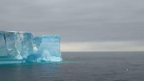 Antarctica - Antarctic Peninsula - Tabular Iceberg in Bransfield Strait Stock Photography