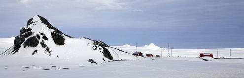 Antarctica - Argentine Scientific Research Base Royalty Free Stock Photos