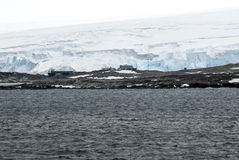 Antarctica in a cloudy day. Antarctic Peninsula - Palmer Archipelago - Neumayer Channel - Global warming - Fairytale landscape royalty free stock images