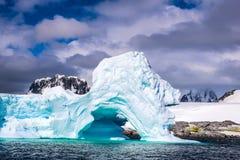 Antarctica in de winter royalty-vrije stock foto's