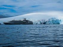 Antarctica in de winter royalty-vrije stock afbeeldingen