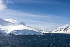 Antarctica -Fairytale landscape in a sunny day Stock Photos