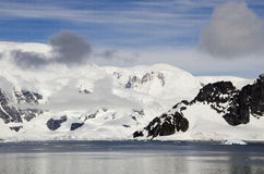 Antarctica - Fairytale landscape in a sunny day Stock Image