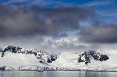 Antarctica - Fairytale landscape in a sunny day Royalty Free Stock Photo