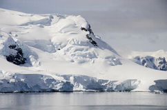 Antarctica - Fairytale landscape in a sunny day Royalty Free Stock Photography
