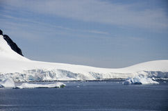 Antarctica - Fairytale landscape in a sunny day Royalty Free Stock Photos