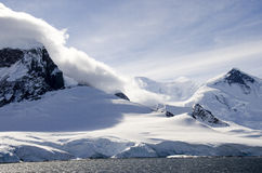 Antarctica - Fairytale landscape in a sunny day Royalty Free Stock Images