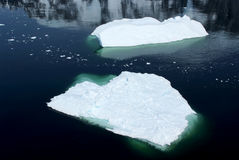 Antarctica - Floating Ice. Global Warming stock photos
