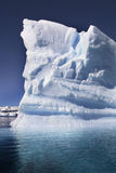 Antarctica - Góra lodowa - Cuverville Zatoka Fotografia Stock