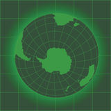 Antarctica green Stock Photo